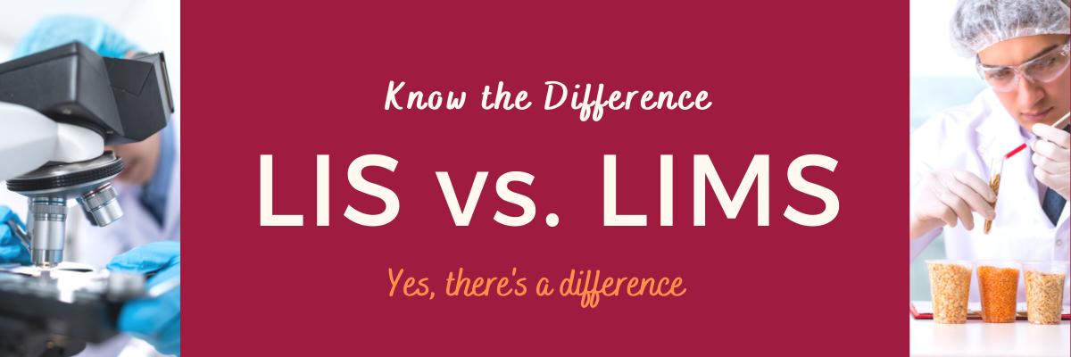 LIS vs LIMS